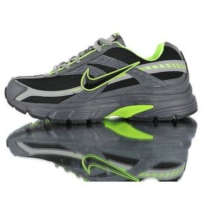 Men's Nike Initiator Black Grey Athletic Sneakers